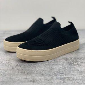 J/Slides Hilo Knit Flat Slip On Sneakers 7 O3505